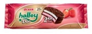 Ülker Halley Duo Çilekli 225 Gr ürün resmi