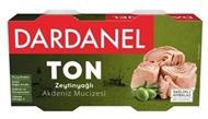 Resim Dardanel Zeytin Yağlı Ton Balığı 2x150 Gr