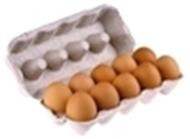 Resim Arslan Çiftliği Gezen Tavuk Yumurta 10 Lu M