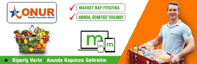 Onur Hipermarketleri Online Market Siparişi