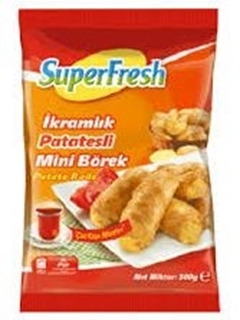 Picture of Superfresh İkramlık Patatesli  Börek 500 Gr