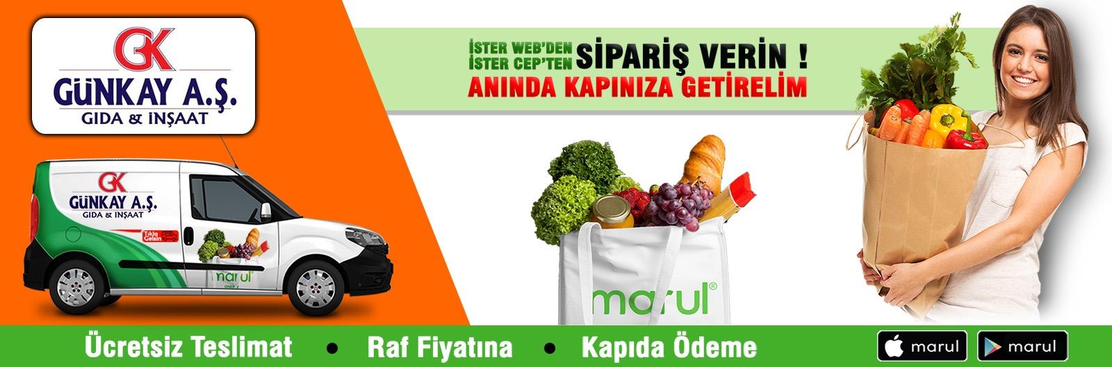 günkay market online sipariş