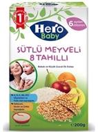 Picture of Hero Baby Sütlü 8 Tahıllı Meyveli 200 Gr