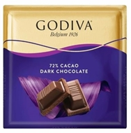 Resim Godiva %72 Bitter Kare Çikolata 60 Gr