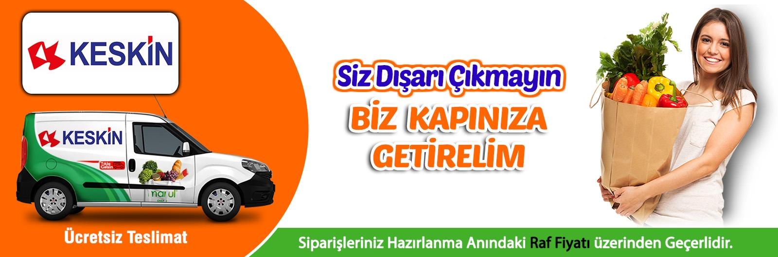 eskişehir keskin market online market siparişi