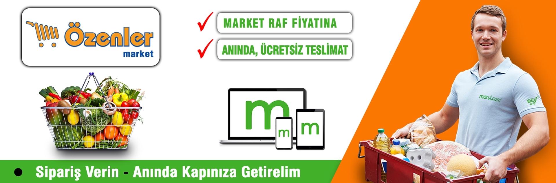 özenler market online market siparişi
