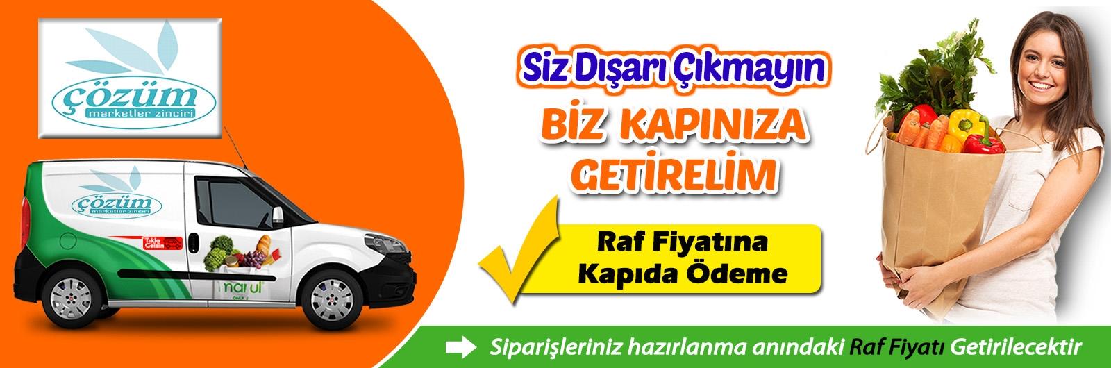 Amasya merzifon Çözüm Market online market siparişi