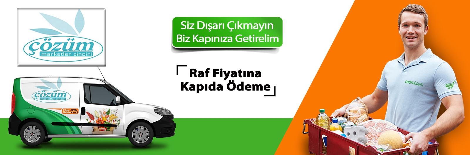 Amasya merzifon Çözüm Market online sipariş