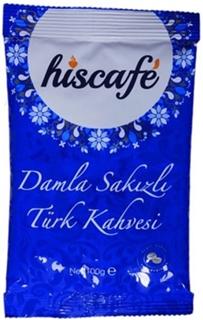 Hiscafe Damlasakızlı Türk Kahvesi Folyo 100 Gr ürün resmi