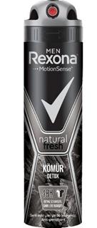 Rexona Deodorant Sprey Men Kömür Detox 150 Ml ürün resmi
