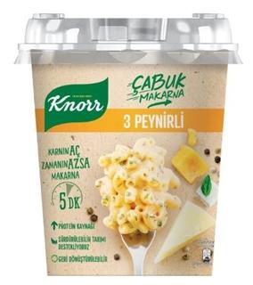 Knorr Çabuk Makarna 3 Peynirli 67 Gr ürün resmi