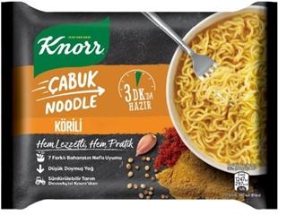 Knorr Çabuk Noodle 66 Gr ürün resmi