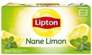 Resim Lipton Nane Limon Bitki Ve Meyve Çayı Bardak Poşet Çay 20 x 2 gr