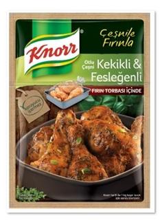 Knorr Otlu Çeşni Kekikli Ve Fesleğenli Fırında Tavuk Çeşnisi 32 Gr ürün resmi