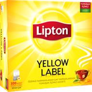 Resim Lipton Yellow Label Tea Süzen Poşet Siyah Çay 100 x 2 gr