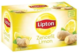Lipton Zencefil Limon Bitki Ve Meyve Çayı Bardak Poşet Çay 20 x 2 gr ürün resmi
