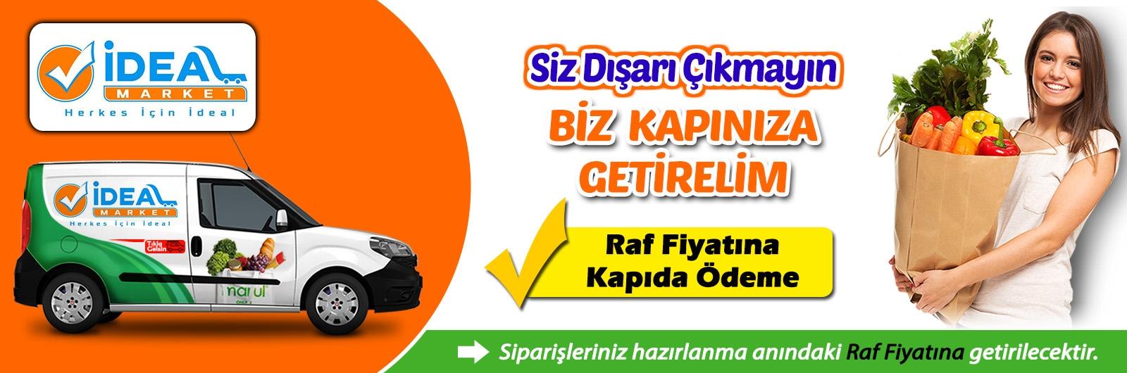 Karabük Safranbolu ideal market online sipariş