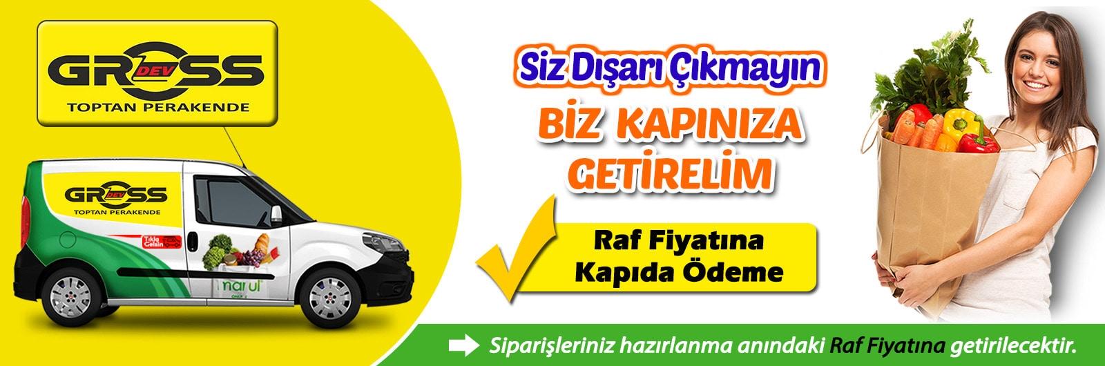 Kahramanmaraş Devgross online market siparişi