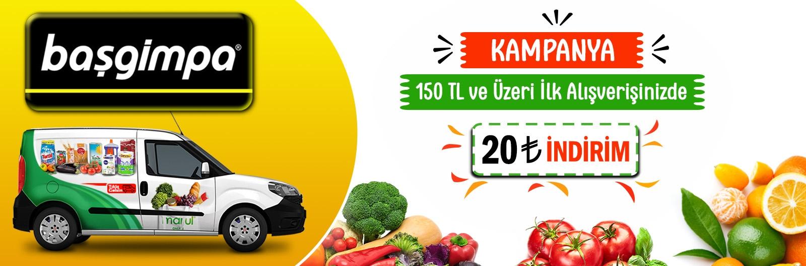 Ankara başgimpa online market siparişi