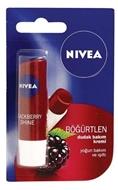 Resim Nivea Lip 4,8Gr Shine Black Berry