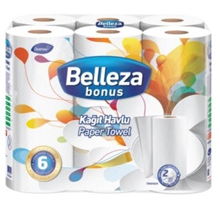 Picture of Belleza Havlu 6 Lı
