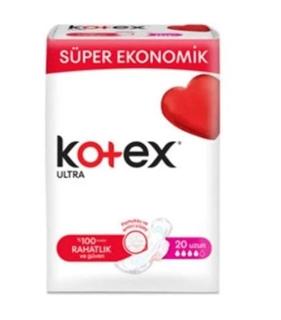 Kotex Ultra Eko 4'Lü Uzun 20 Li ürün resmi