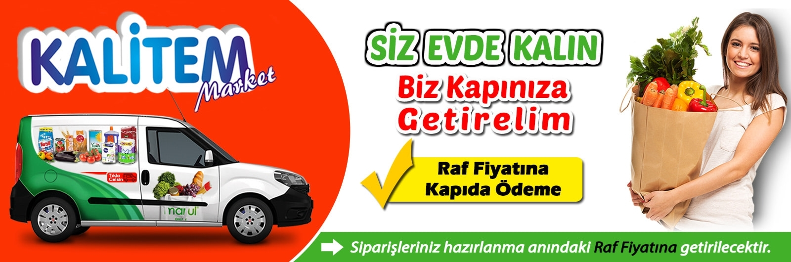 Safranbolu Kalitem Market Online Market Siparişi
