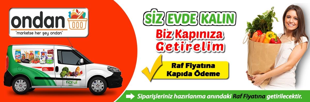 İstanbul Ondan market online sipariş