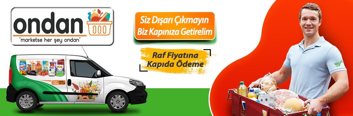 İstanbul Ondan market online marketi siparişi