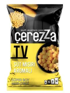 Çerezza Tv Süt Mısır Aroma Çeşnili Mısır Çerezi 117 Gr ürün resmi