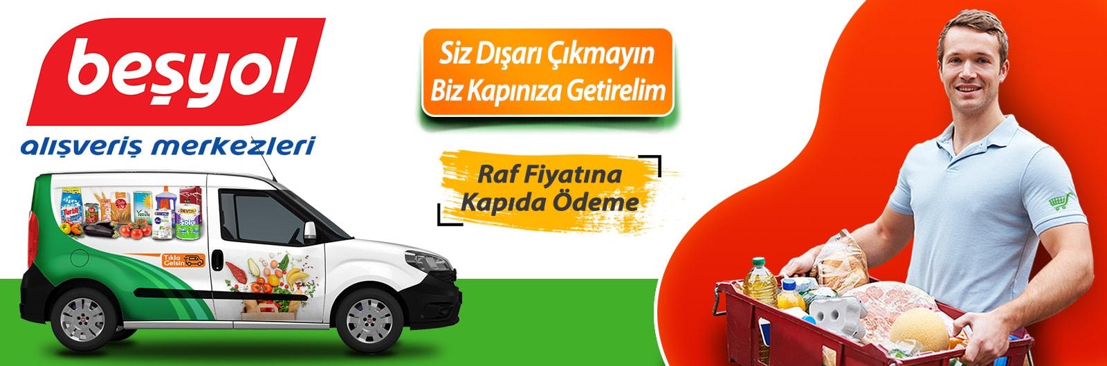 Konya Beşyol Avm online sipariş