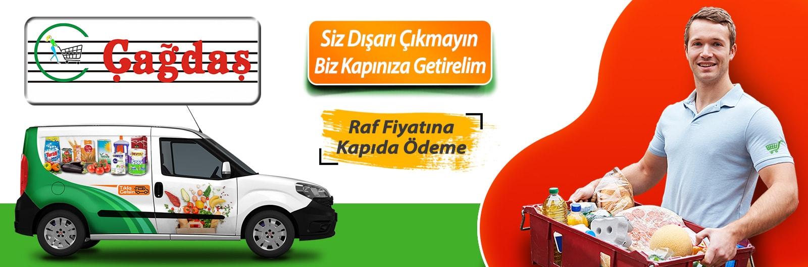 erenköy çağdaş online market siparişi