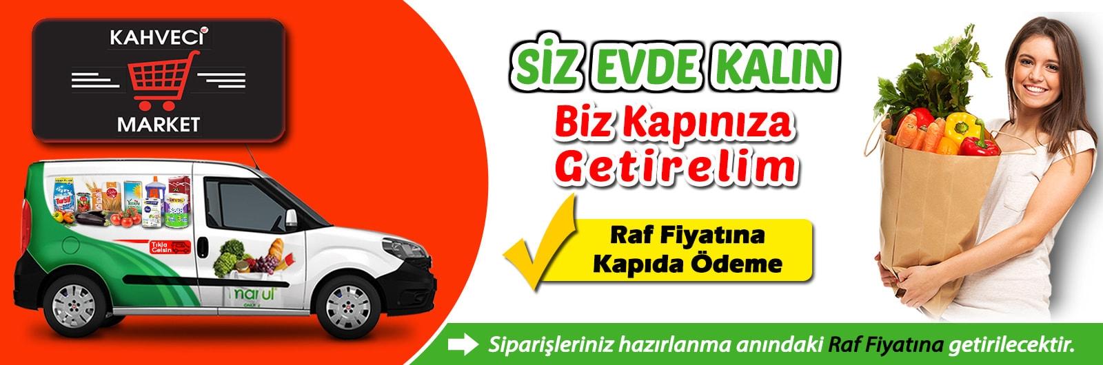 Kahveci Market Online Market Alışverişi