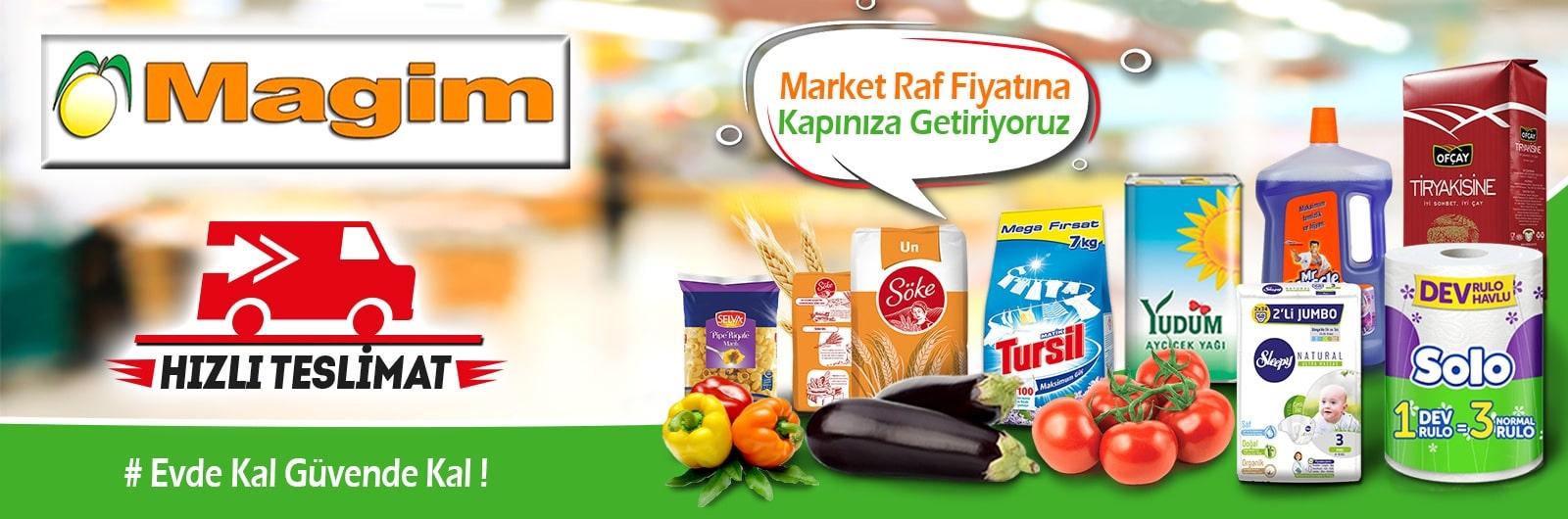 Malatya Magim Market Online sipariş