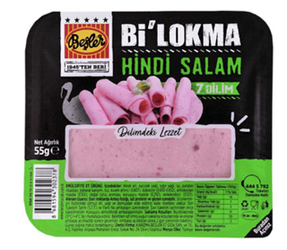 Beşler Bi Lokma Hindi Salam 55 Gr ürün resmi