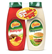 Picture of Bizim Ketçap & Mayonez Kck Pet 730 Gr