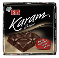 Resim Eti Çikolata Karam %45 K.Bıtter 70 Gr