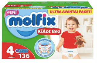 Molfix Pants Maxi Ultra Avantaj Paketi Kutu 136 Lı ürün resmi