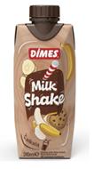 Resim Dimes Milkshake Muz Kurabiye 310 Ml