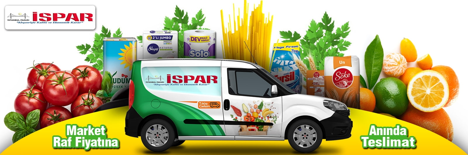 Kartal İspar Market Online Sipariş