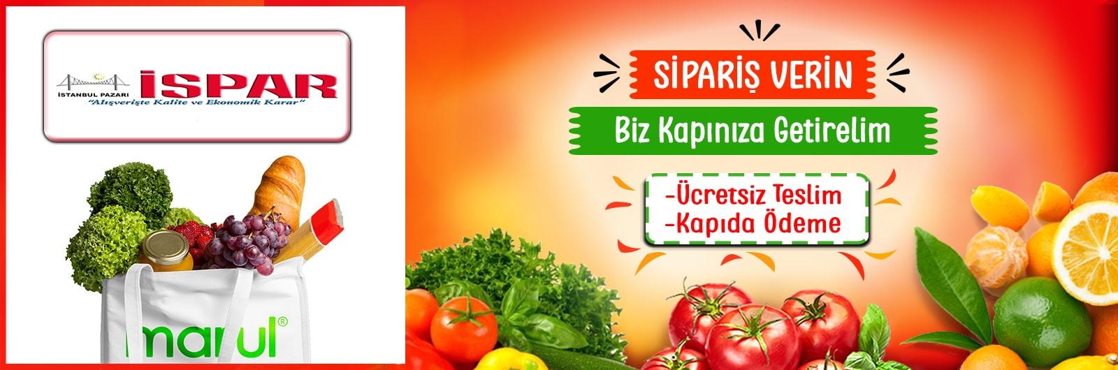 İspar Market Online Market Alışverişi