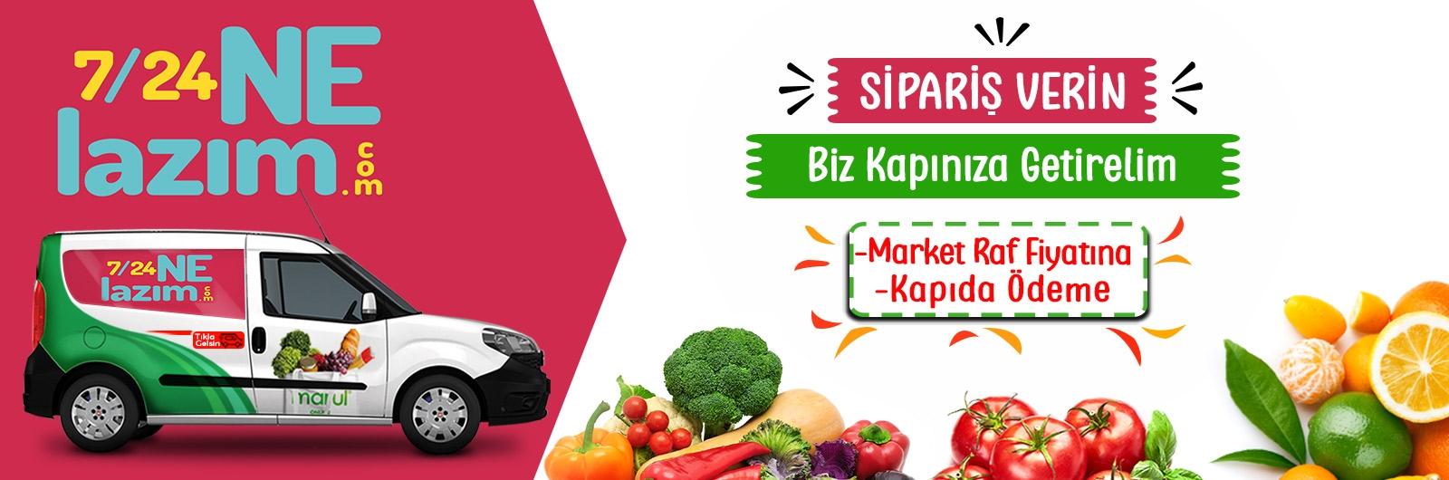 7/24 Ne Lazım market online sipariş