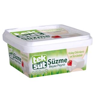 Teksüt Süzme Beyaz Peynir 250 gr ürün resmi