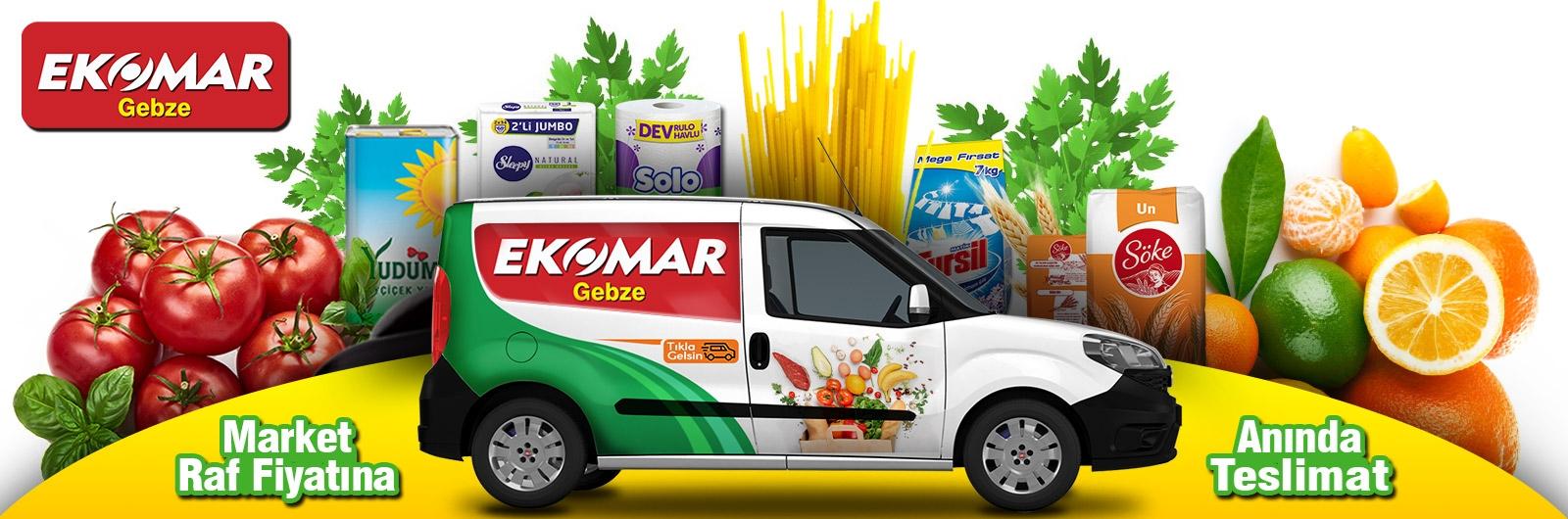Gebze Ekomar Online sipariş