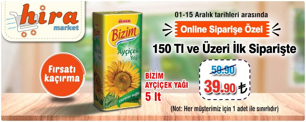 Hira market online sipariş
