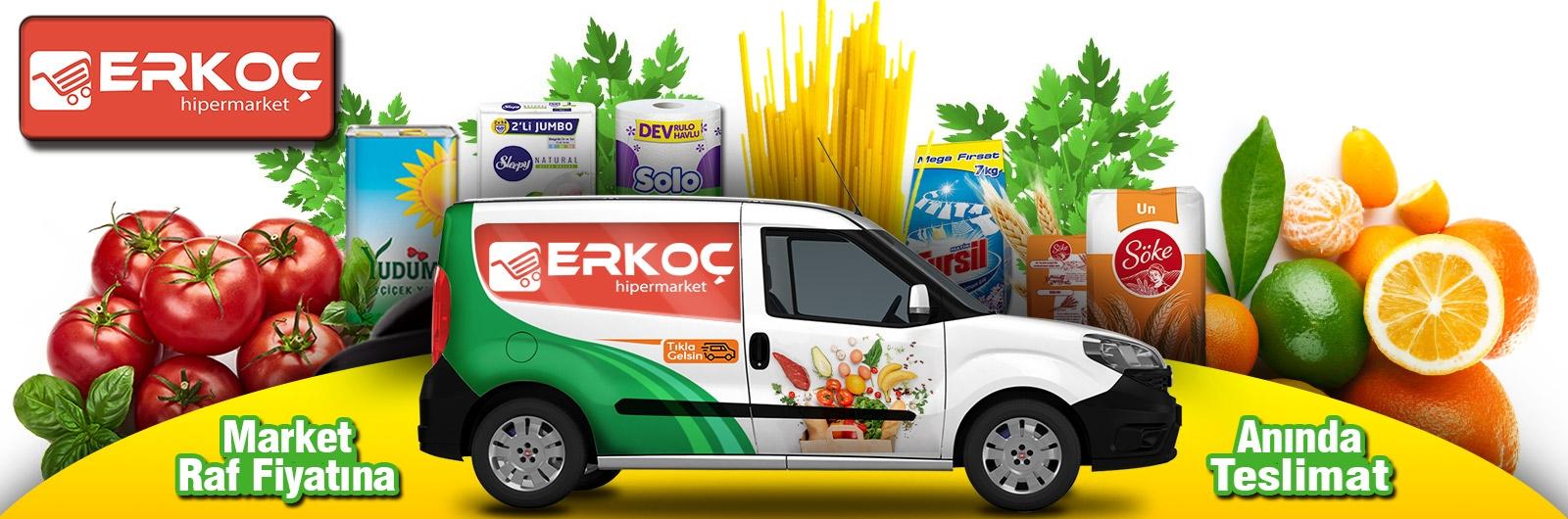 Kağıthane Erkoç Gıda online sipariş