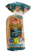 Resim Untad Gurme Tam Buğday Tuzsuz İlavesiz Ekmek 350 Gr