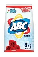 Resim ABC MATİK 6 KG çamaşır deterjan gül tutkusu