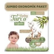 Picture of Baby Turco Doğadan Jumbo 2 Li Xl 40 Lı