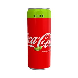 Coca Cola Lime Kutu 250 Ml ürün resmi